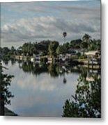 Port Charlotte Elkham Waterway From Tamiami Metal Print