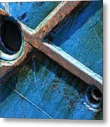 Port Cross Metal Print