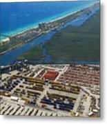 Port Everglades Florida Metal Print