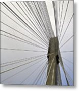 Port Mann Bridge Metal Print