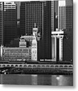 Port Of San Francisco Metal Print