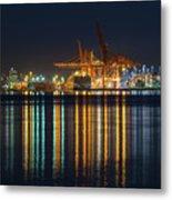 Port Of Vancouver In British Columbia Canada Metal Print