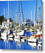Port Townsend Harbor Metal Print