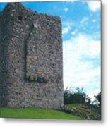 Portaferry Castle Metal Print