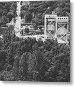 Portage Bridge Metal Print