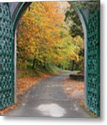 Portal To The Colorful Autumn Season Metal Print