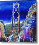 Portland Bridge Metal Print