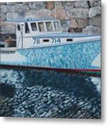 Portland Lobster Boat Metal Print