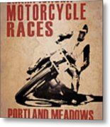 Portland Meadows Metal Print