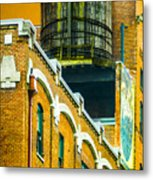 Portland Water Tower II Metal Print