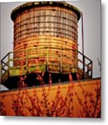Portland Water Tower IIi Metal Print