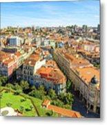 Porto Panorama Skyline Metal Print