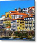 Porto Rising Metal Print