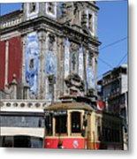 Porto Trolley 1 Metal Print