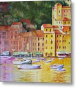 Portofino Afternoon Metal Print