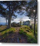 The House Of The Rising Sun In Portofino Metal Print