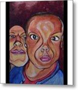 Portrait Eul And Dhani Metal Print