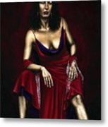 Portrait Of A Dancer Metal Print by Richard Young
