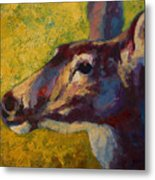 Portrait Of A Doe Metal Print