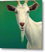 Portrait Of A Goat Metal Print