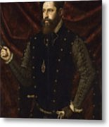 Portrait Of A Knight Of The Order Of Santiago Metal Print