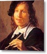 Portrait Of A Man 1640 Metal Print