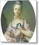 Portrait Of A Pensionnaire Of The King Metal Print