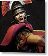 Portrait Of A Roman Legionary - 11 Metal Print