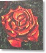 Portrait Of A Rose 2 Metal Print