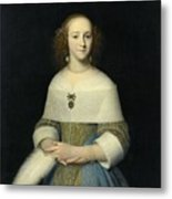 Portrait Of A Young Lady Metal Print