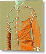 Portrait Of A Young  Wwi Soldier Series 14 Metal Print