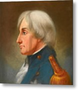 Portrait Of Admiral Lord Nelson Metal Print