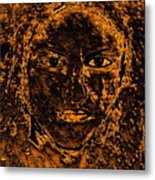 Portrait Of An Ancient Woman Metal Print