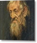 Portrait Of An Old Man 1913 Metal Print