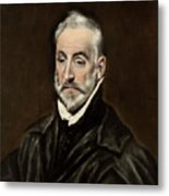 Portrait Of Antonio De Covarrubias Metal Print
