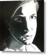Portrait Of Bridget L. Metal Print