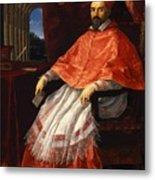 Portrait Of Cardinal Roberto Ubaldini 1625 Metal Print