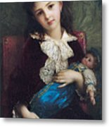 Portrait Of Catherine Du Bouchage Metal Print