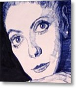 Portrait Of Catherine Metal Print