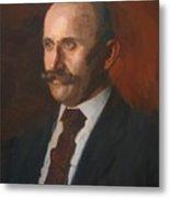 Portrait Of Charles Gruppe 1904 Metal Print