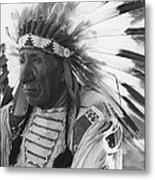 Portrait Of Chief Red Cloud Metal Print