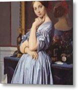 Portrait Of Countess D Haussonville Metal Print
