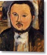 Portrait Of Diego Rivera 1914 Metal Print