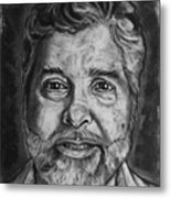 Portrait Of Douglas Metal Print