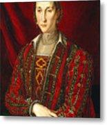 Portrait Of Eleanora Di Toledo Metal Print