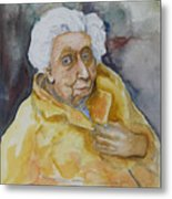 Portrait Of Eudora Welty   Metal Print