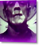 Portrait Of Frankie Metal Print