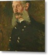Portrait Of General E Burd Grubb Metal Print