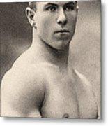 Portrait Of George Hackenschmidt Metal Print