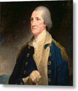 Portrait Of George Washington Metal Print